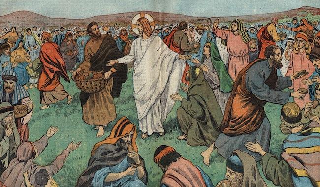 """Résultat de recherche d'images pour """"La distribution de pain et des poissons dans l'évangile"""""""